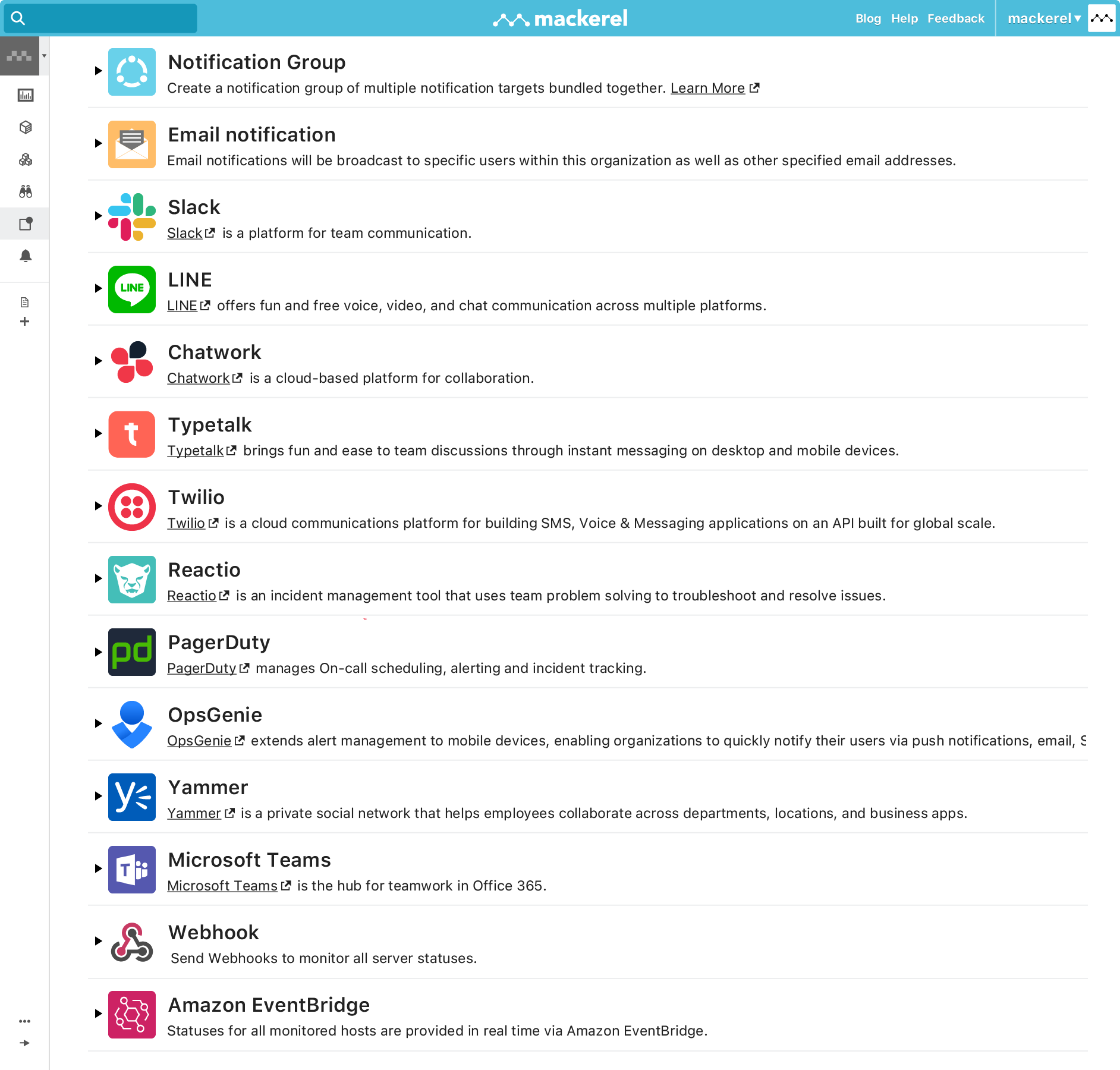 Get notifications from a plethora of different services